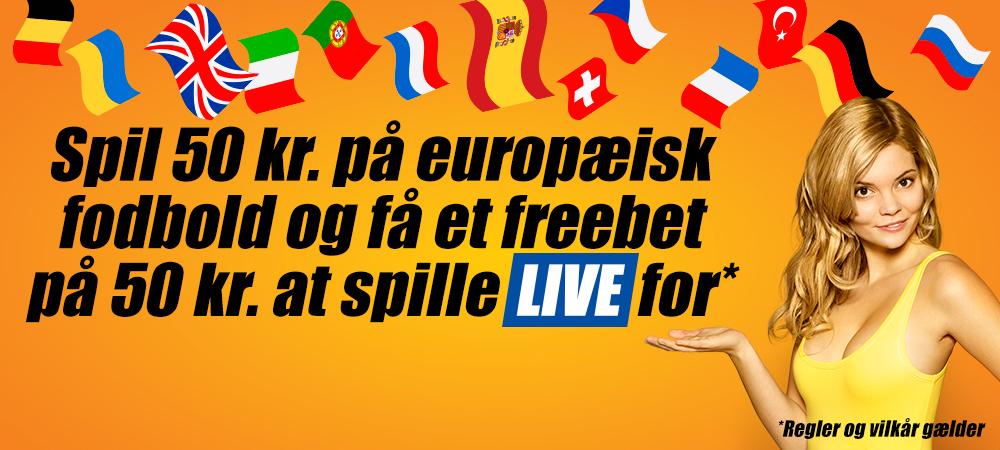 Få et 50 kroners freebet hos DanskeSpil