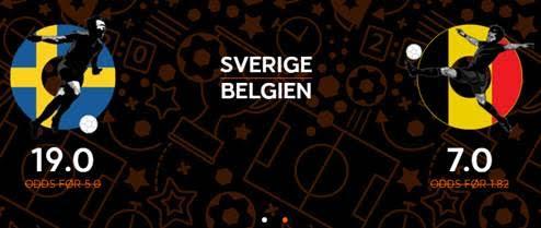 Få odds 7 for en belgisk sejr eller odds 14 for en islandsk sejr