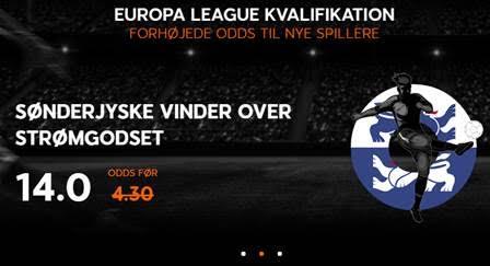 Hent stor odds bonus på Europa League kampe